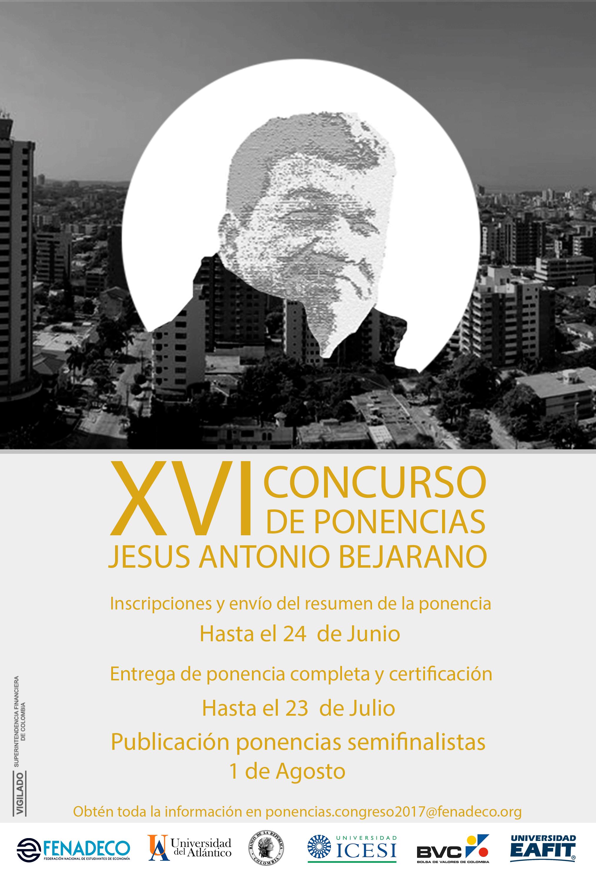 """Finalistas Concurso Nacional de Ponencias """"Jesús Antonio Bejarano"""""""